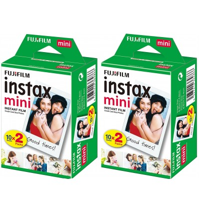 Film Fuji Instax Mini - Pack 40 unidades