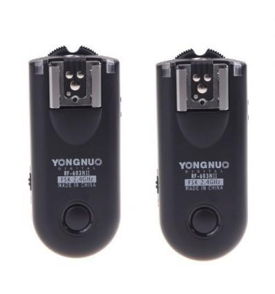 Disparador Inalámbrico para Flash RF603II N1