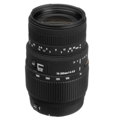 Sigma 70-300mm F4-5.6 DG MACRO para Canon