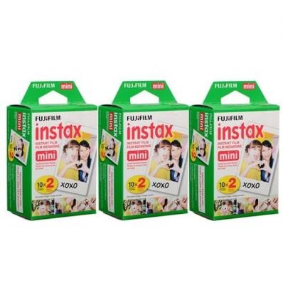 Film Fuji Instax Mini - 60 unidades