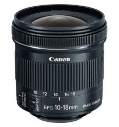 Lente Canon EF-S 10-18mm f/4.5-5.6 IS STM