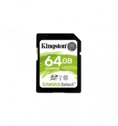 Tarjeta SD Kingston 64 GB CANVAS Select